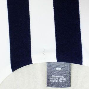 aerie Swim - Aerie Navy & White Striped One-Piece Swimsuit - M